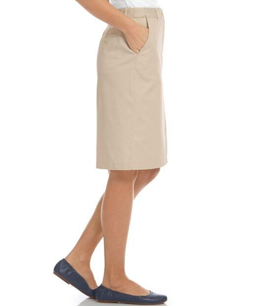 ベイサイド・ツイル・スカート、クラシック・フィット ヒドゥン・コンフォート・ウエスト, , hi-res