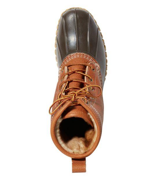 エル・エル・ビーン・ブーツ、8インチ タンブル・レザー シアリングラインド プリマロフト, , hi-res