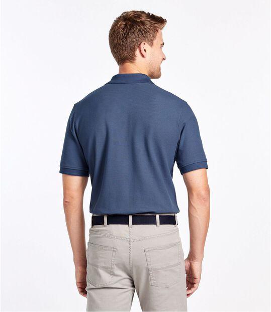 プレミアム・ダブル・エル・ポロシャツ、半袖, , hi-res