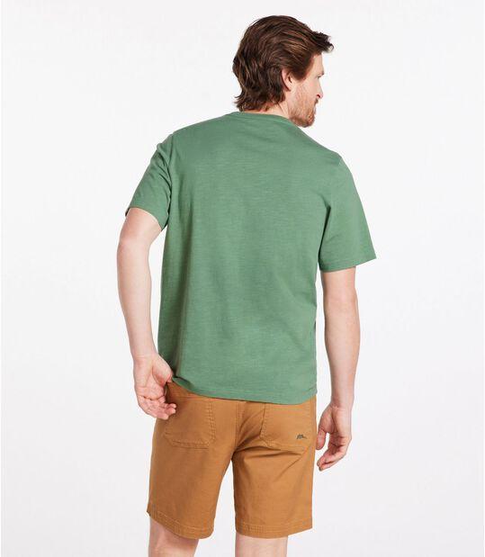 レイクウォッシュ・オーガニック・コットン・グラフィック・ティ、半袖, , hi-res