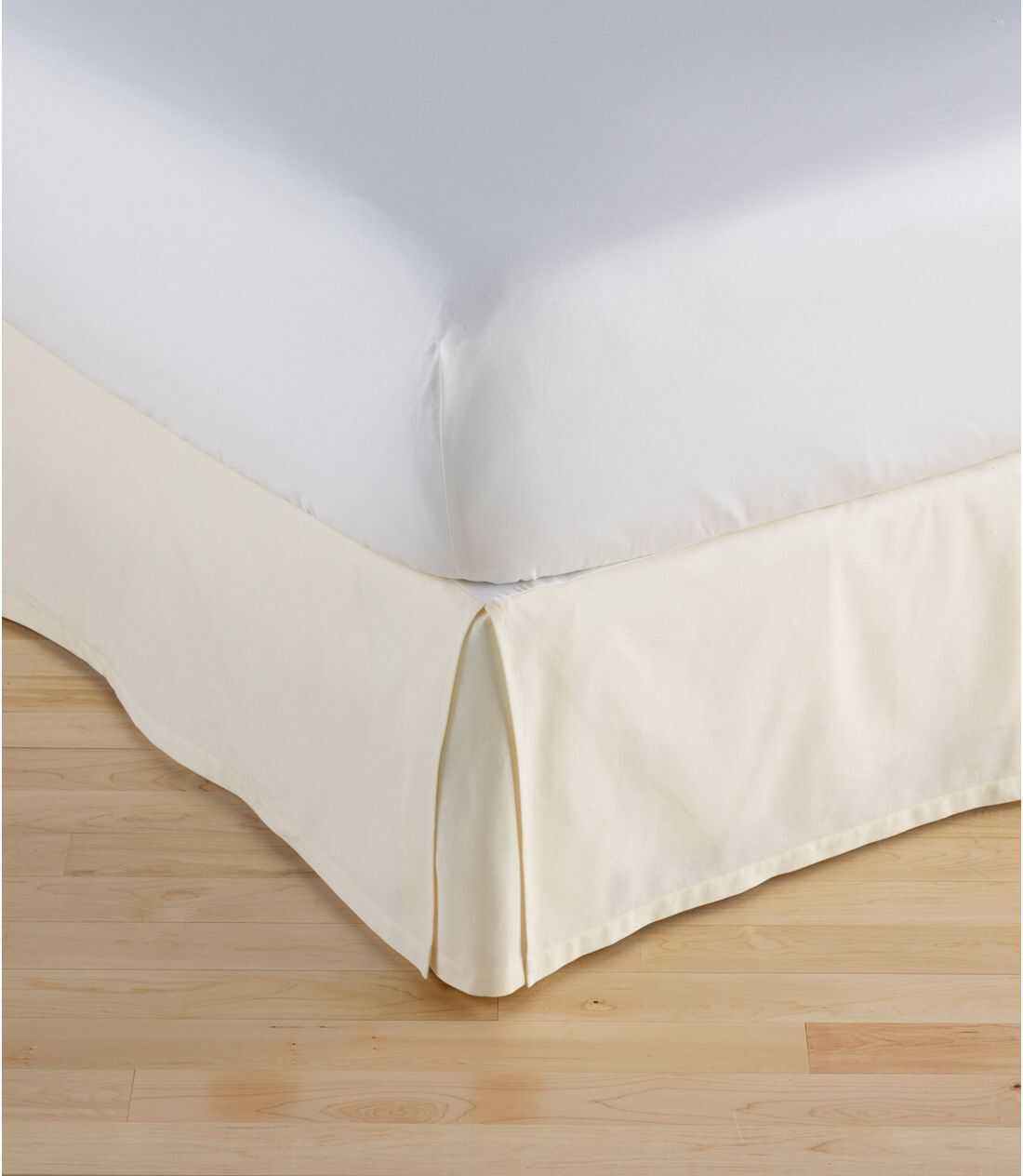 ボックス・プリーツ・ベッド・スカート