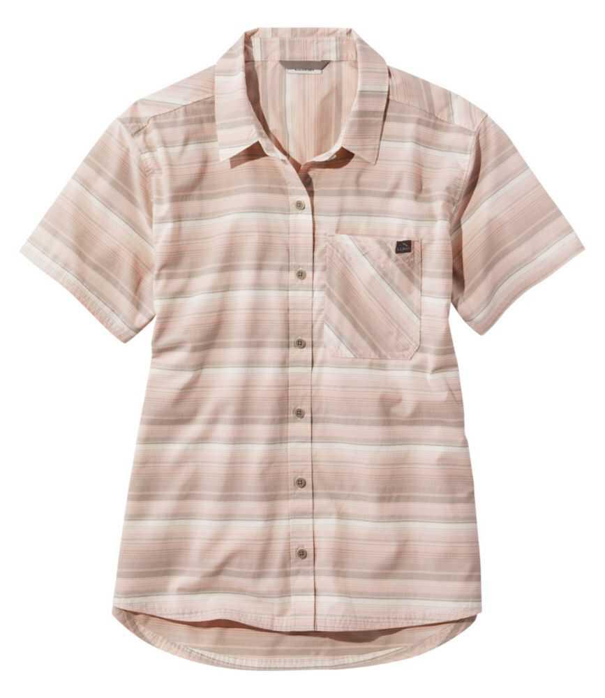 ビーチ・クルーザー・サマー・シャツ、半袖 ストライプ