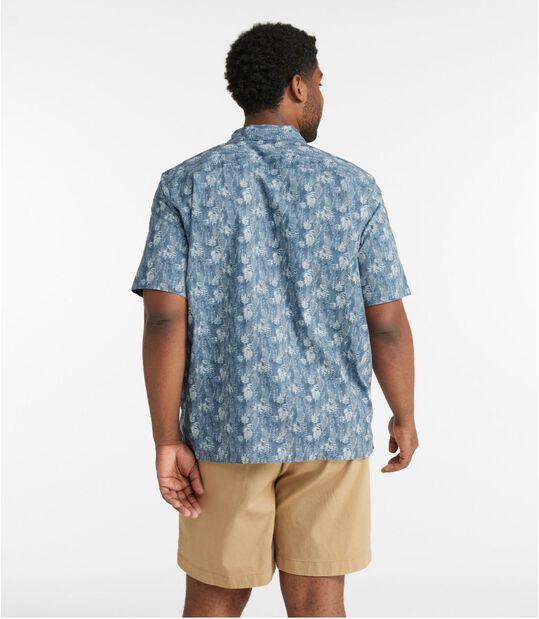 トロピック・シャツ、半袖 プリント, , hi-res