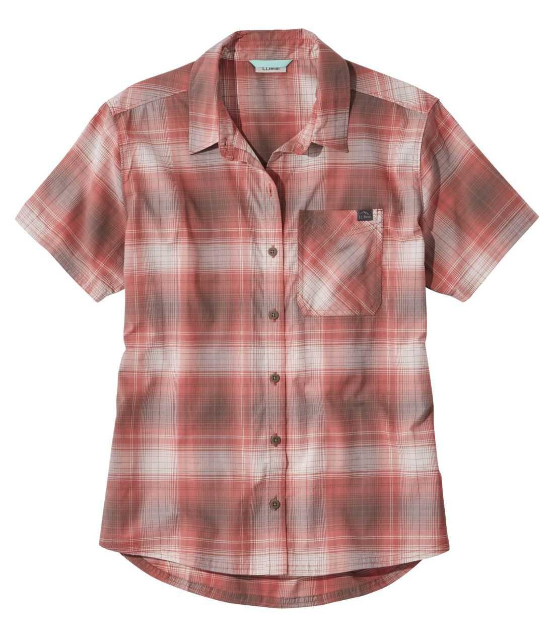 ビーチ・クルーザー・サマー・シャツ、半袖 プラッド
