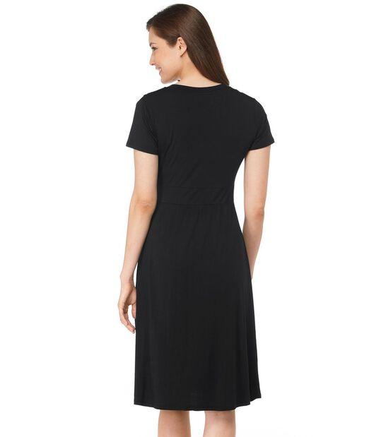 サマー・ニット・ドレス、半袖, , hi-res