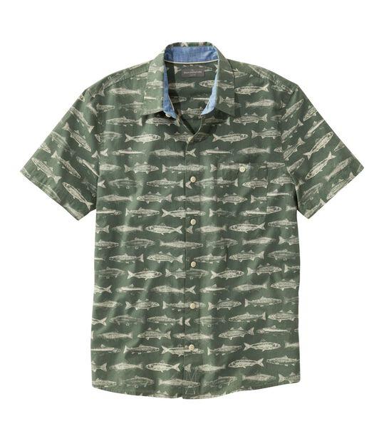 シグネチャー・プリント・シャツ、半袖, , hi-res
