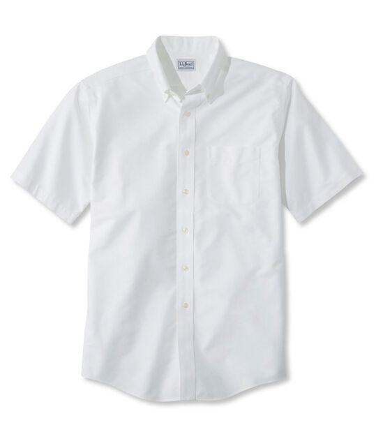 リンクルフリー(形態安定)・クラシック・オックスフォード・クロス・シャツ、トラディショナル・フィット 半袖, , hi-res