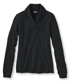 クラシック・カシミヤ・セーター、ショール・カラー, , hi-res