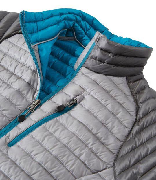 ウルトラライト 850 ダウン・ セーター、カラーブロック, , hi-res