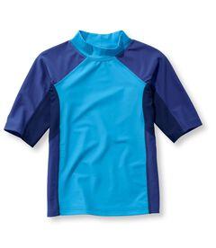 サン・アンド・サーフ・シャツ、半袖 カラーブロック, , hi-res