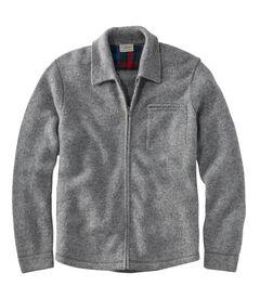 ビンテージ・シェットランド・ウール・セーター、フルジップ, , hi-res