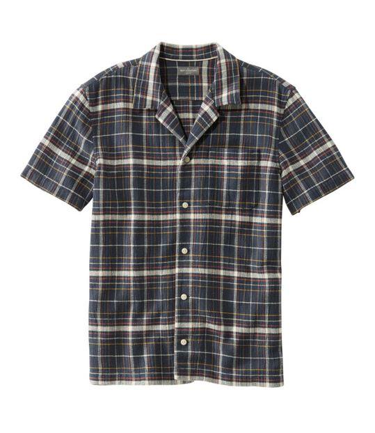 シグネチャー・ヘリテージ・クール・ウィーブ・キャンプ・シャツ、半袖, , hi-res
