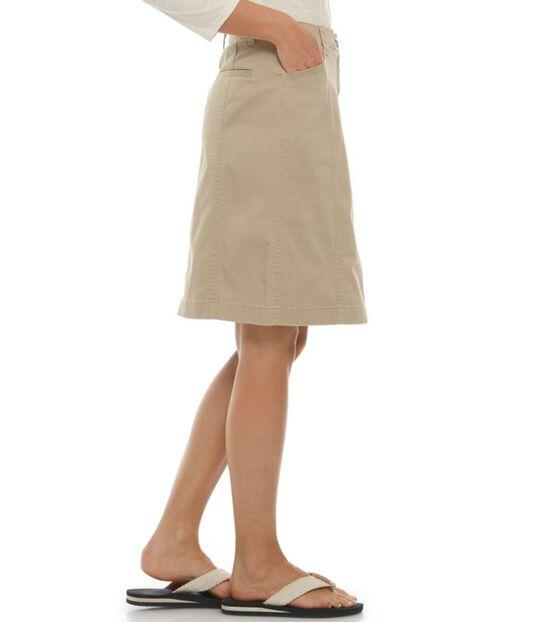 イージー・ストレッチ・スカート、ツイル, , hi-res