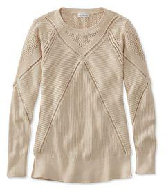 シグネチャー・オープンステッチ・セーター, , hi-res