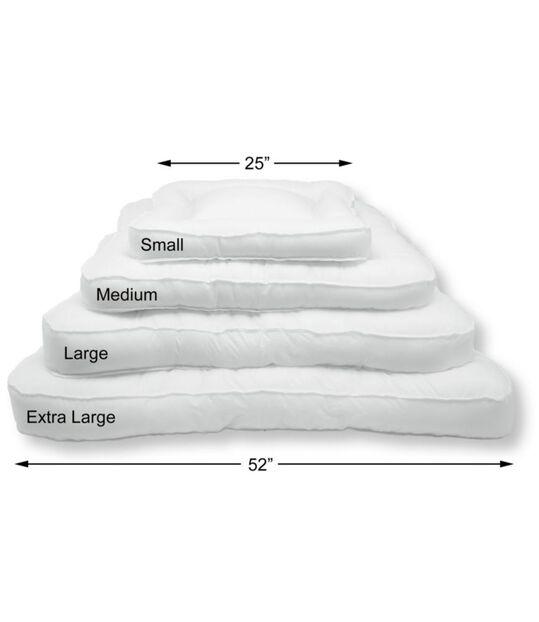 プレミアム・ドッグ・ベッド・リプレースメント・マットレス・インサート、長方形, , hi-res