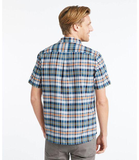 シグネチャー・マドラス・シャツ、半袖 プラッド, , hi-res