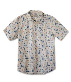 オッター・クリフ・シャツ、半袖 プリント, , hi-res
