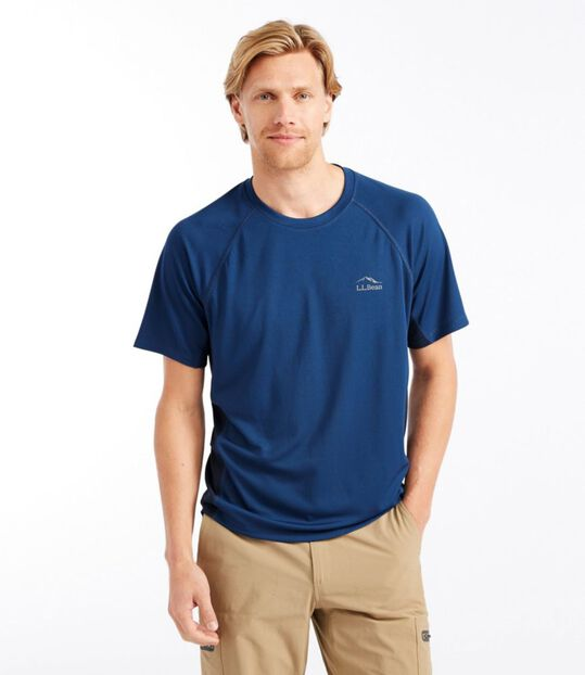 リッジ・ランナーTシャツ、半袖 カラーブロック, , hi-res