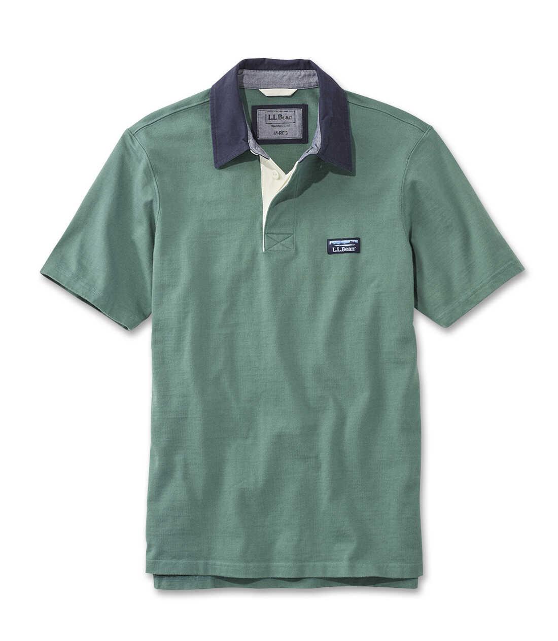 レイクウォッシュ・ラグビー・シャツ、半袖