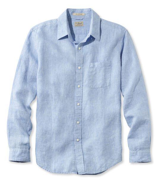 エル・エル・ビーン・リネン・シャツ、長袖, , hi-res