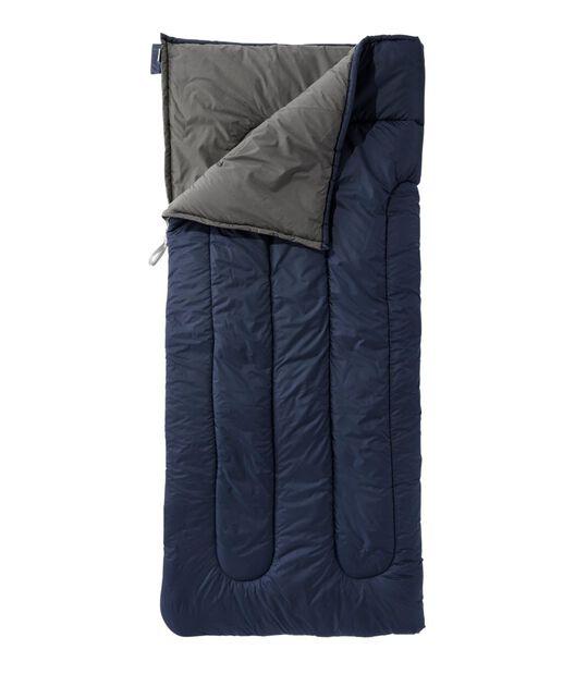キャンプ・スリーピング・バッグ、コットンブレンドラインド 4℃, , hi-res