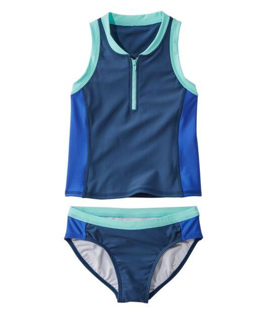 ウォータースポーツ・スイムスーツ、ツーピース カラーブロック, , hi-res