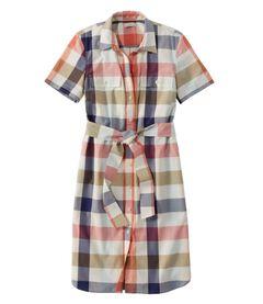 シグネチャー・シャツ・ドレス、パターン, , hi-res