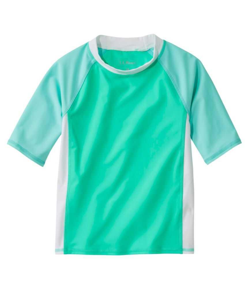 キッズ・サンアンドサーフ・シャツ、半袖 カラーブロック