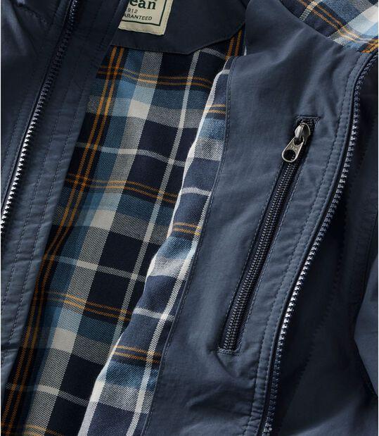 ウォーム・アップ・ジャケット、フランネルの裏地付き, , hi-res