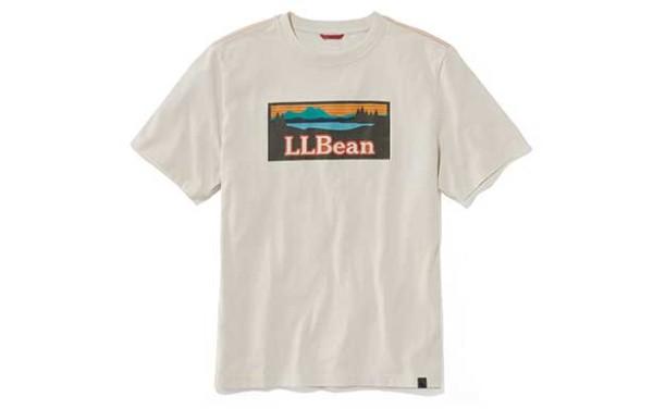 カタディン・ロゴが入ったL.L.BeanのTシャツ