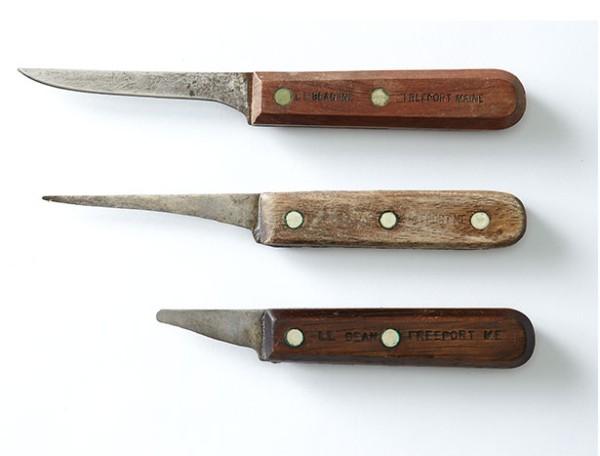 L.L.Beanのナイフ、アーカイブから