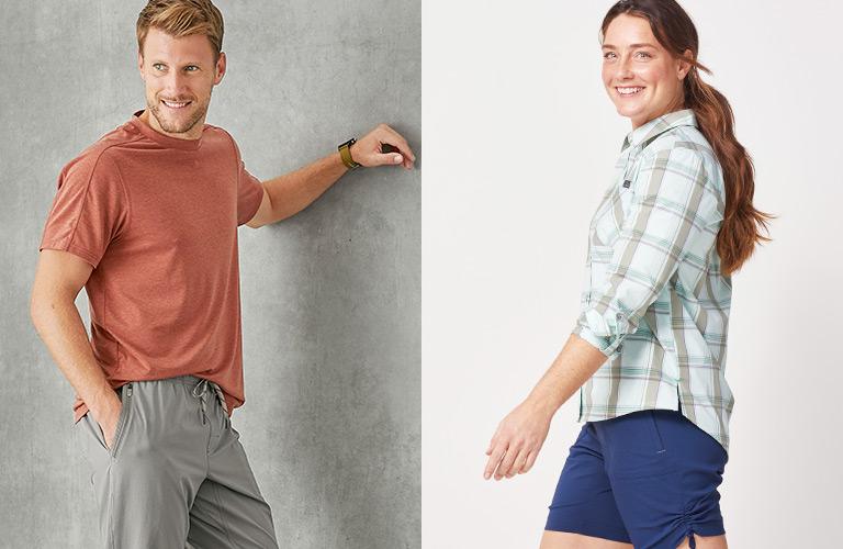 Men's Sun Protection Shirts & Pants