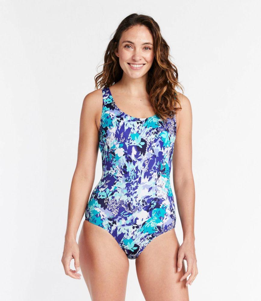 ビーンスポーツ・スイムウエア、スクープネック・タンクスーツ プリント/Women's BeanSport Swimwear, Scoopneck Tanksuit, Print
